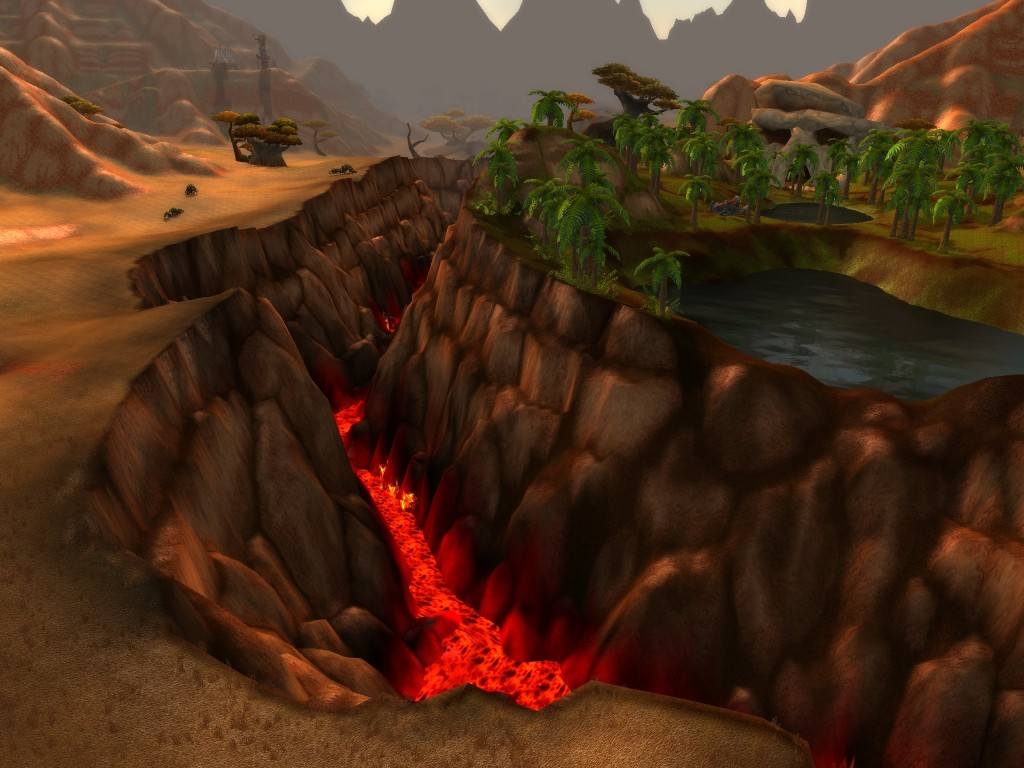 Cataclysm Barrens divide