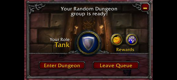 wow dungeon finder