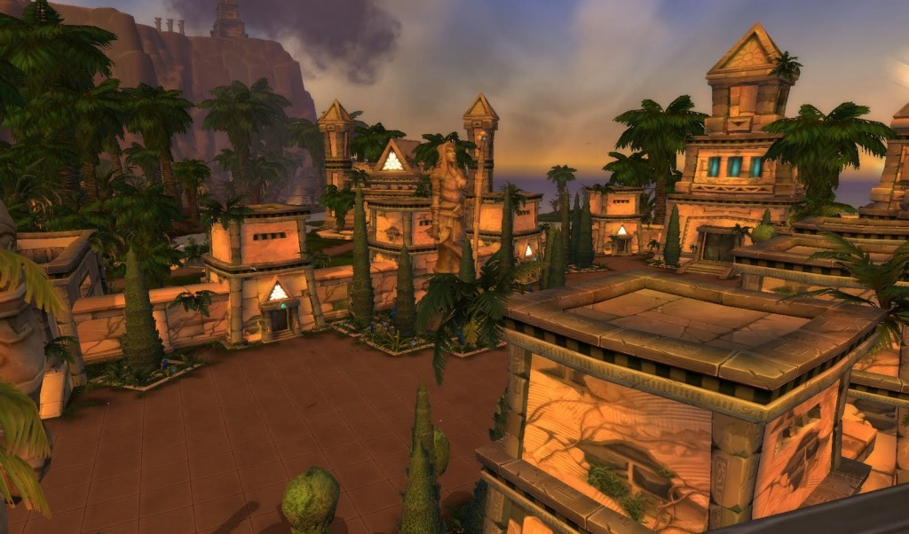 Uldum's Lost City of the Tol'vir