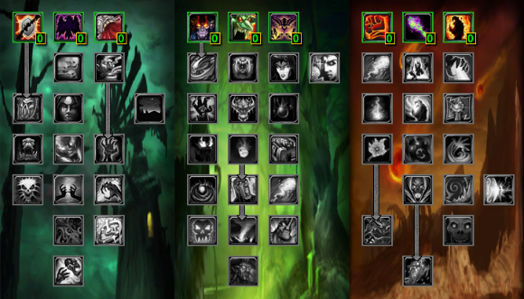 Cataclysm Warlock Talents