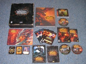 Cataclysm Collector's Edition contents