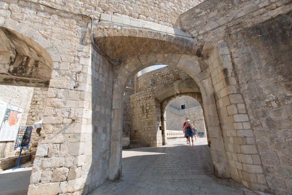 I'm pretty sure the show has used this scenic arch from Dubrovnik a couple of time