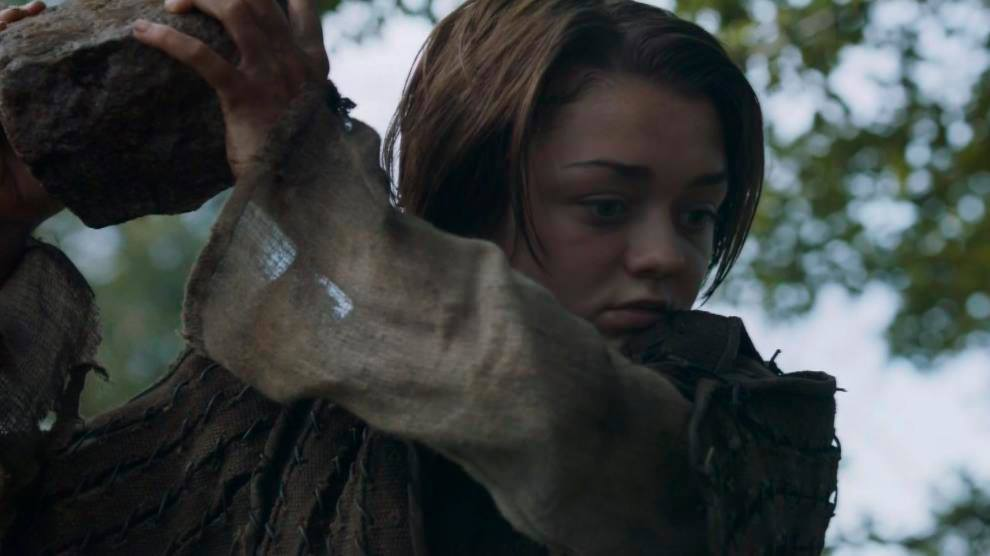 don't mess with Arya!