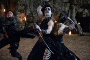 The witch designs are borrowed from Clive Barker's Nightbreed