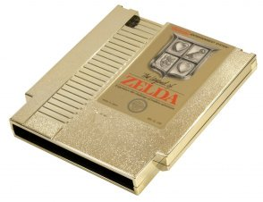 The original gold NES cart