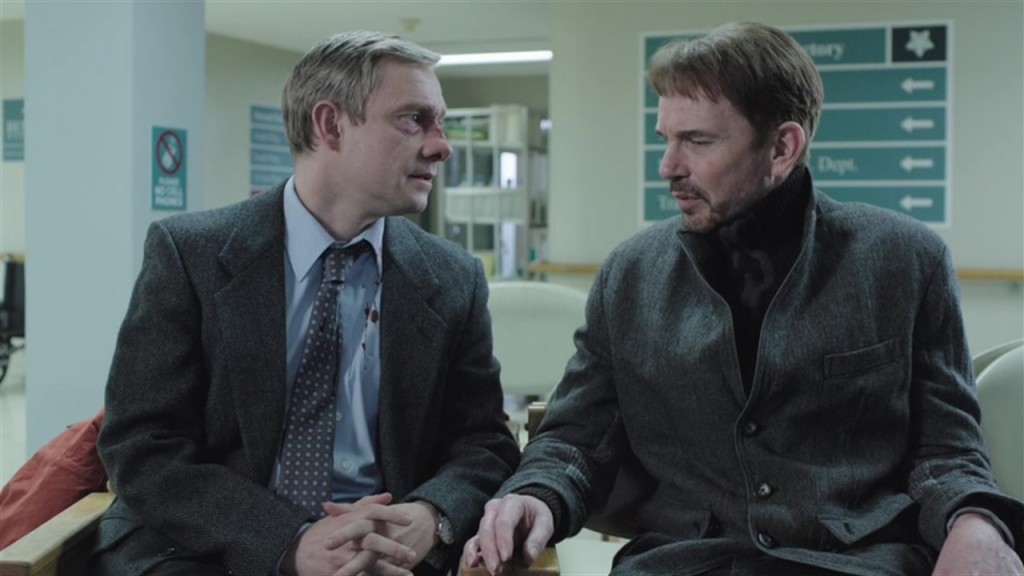 Malvo (right) is the evil force around which the plot whirls. Really, one of cinema/television's best villains yet