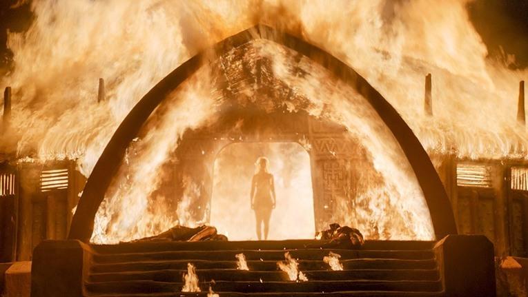 Girl on Fire!