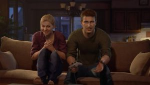 Elena, like my wife, lets Nathan play video games